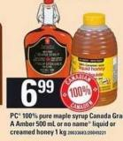 100% Pure Maple Syrup Canada Grade A Amber 500 Ml Or No Name Liquid Or Creamed Honey 1 Kg