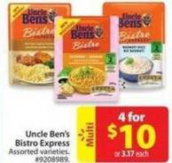 Uncle Ben's Bistro Express