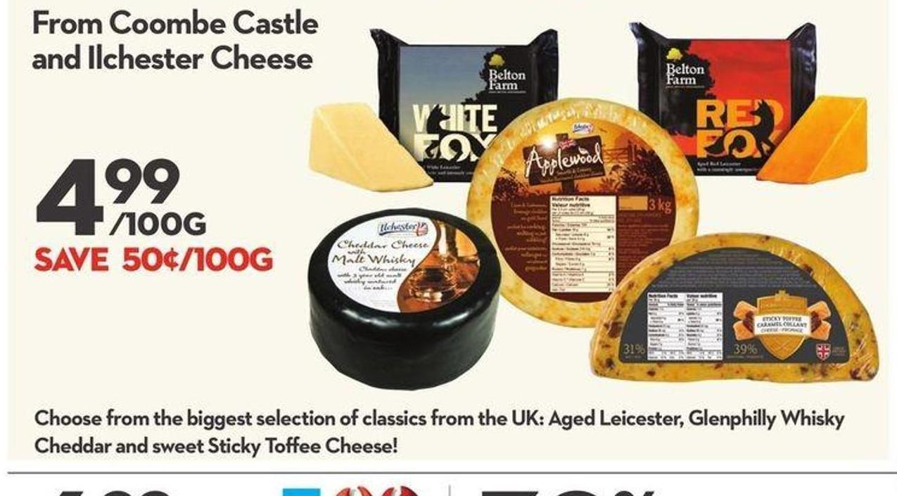 Coombe Castle and Ilchester Cheese