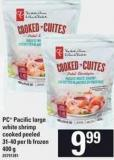 PC Pacific Large White Shrimp - 31-40 Per Lb 400 g