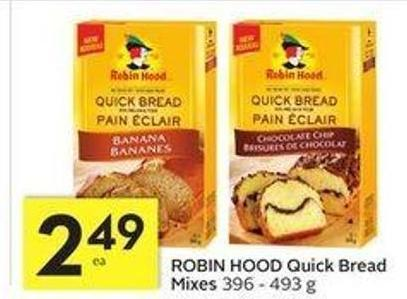 Robin Hood Quick Bread Mixes