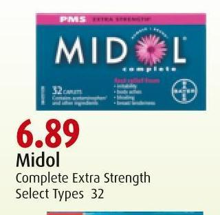 Midol Complete Extra Strength
