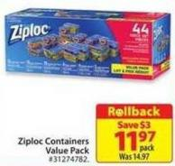 Ziploc Containers Value Pack