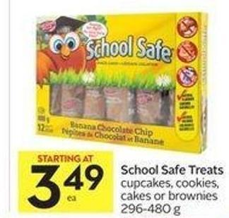 School Safe Treats Cupcakes - Cookies - Cakes or Brownies 296-480 g