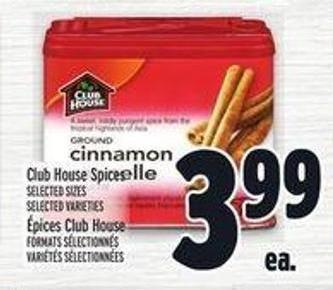 Club House Spices