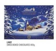 Lindt Swiss Boxed Chocolates 469 g