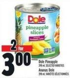 Dole Pineapple - 398 mL