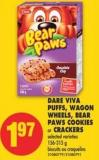 Dare Viva Puffs - Wagon Wheels - Bear Paws Cookies Or Crackers - 156-315 g