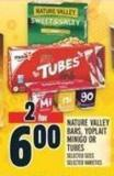 Nature Valley Bars - Yoplait Minigo Or Tubes