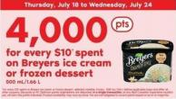 Breyers Ice Cream Or Frozen Dessert - 500 Ml/1.66 L
