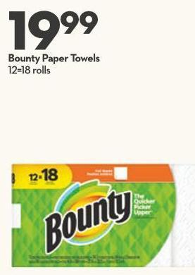19 Bounty Paper Towels