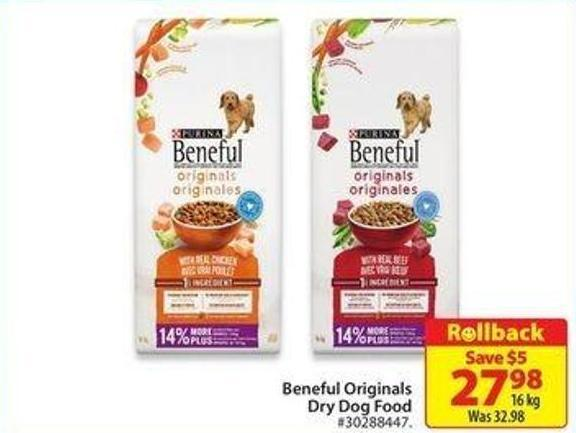 Purina Beneful Originals Dry Dog Food