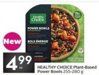 Healthy Choice Plant Based Power Bowls