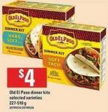 Old El Paso Dinner Kits - 227-510 g