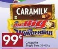 Cadbury Single Bars 32-60 g