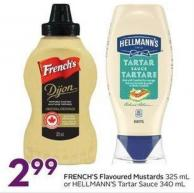 French's Flavoured Mustards