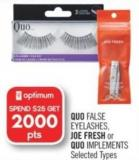 Quo False Eyelashes - Joe Fresh or Quo Implements