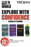 Trojan  Personal Lubricant or Condoms