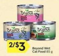 Beyond Wet Cat Food