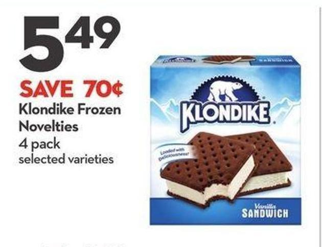 Klondike Frozen Novelties