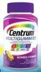 Centrum Multigummies Products - 40 Air Miles Bonus Miles