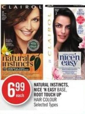Natural Instincts - Nice 'N Easy Base - Root Touch Up