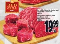 Red Grill Beef Tenderloin Steak Or Roast