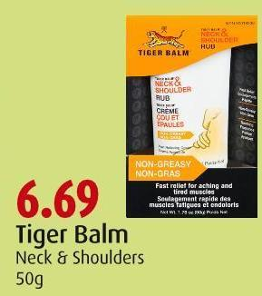 Tiger Balm Neck & Shoulders 50g