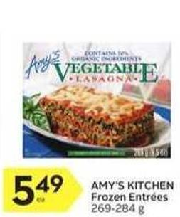 Amy's Kitchen Frozen Entrées