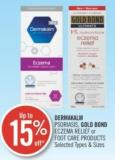 Dermakalm Psoriasis - Gold Bond Eczema Relief Or Foot Care Products