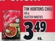 Tim Hortons Chili 425 g
