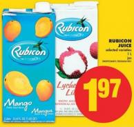 Rubicon Juice - 1 L