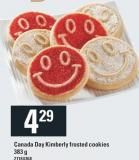 Canada Day Kimberly Frosted Cookies - 383 g