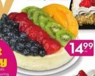 6in Fresh Fruit or Strawberry-topped Cheesecake