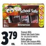 Treasure Mills School Safe Snack Cakes