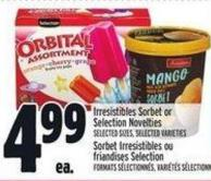 Irresistibles Sorbet Or Selection Novelties