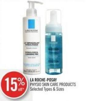 La Roche-posay Physio Skin Care Products