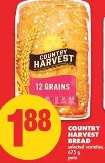 Country Harvest Bread.675 G