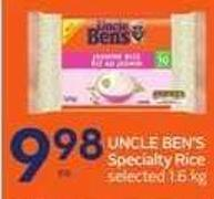 Uncle Ben's Specialty Rice
