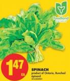 Spinach - Bunched
