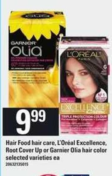 Hair Food Hair Care - L'oréal Excellence - Root Cover Up Or Garnier Olia Hair Color