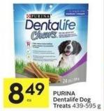 Purina Dentalife Dog Treats 439-595 g