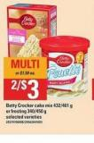 Betty Crocker Cake Mix 432/461 G Or Frosting 340/450 G