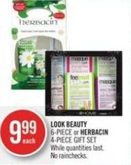 Look Beauty 6-piece or Herbacin 4-piece Gift Set