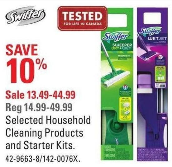 Selected Household Cleaning Products and Starter Kits