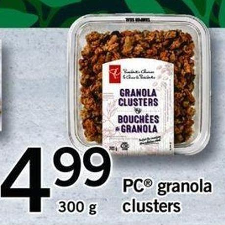 PC Granola Clusters - 300g