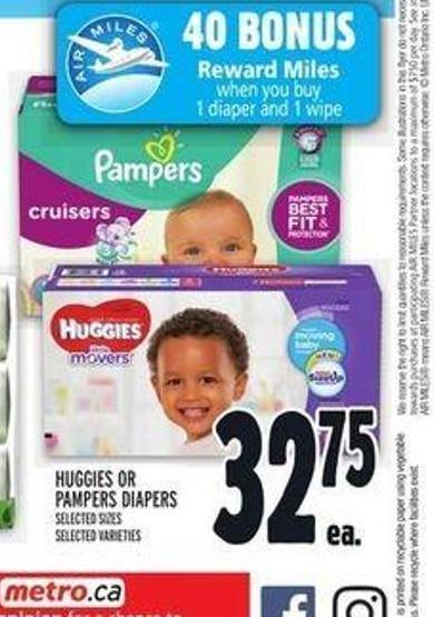 Huggies Or Pampers Diapers