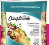 Compliments Garden Salad or Cole Slaw Product of USA 340-454 g