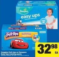 Huggies Pull-ups Or Pampers Easy Ups Training Pants - 82-124's