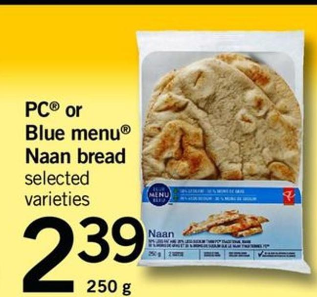 Blue Menu Naan Bread - 250 G